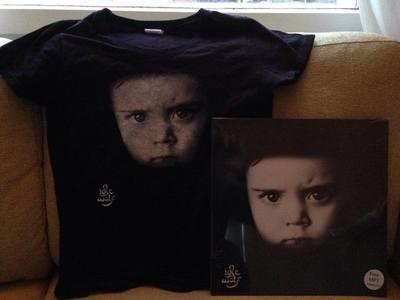 Idle Wolf LP + T-Shirt Bundle