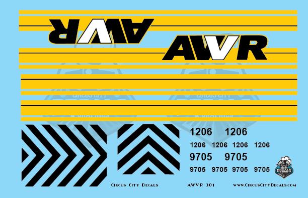 AWVR Unstoppable Movie 1206 SD40-2 O Scale