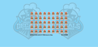 Kansas City Southern Autorack 125th Logo Decals HO Scale
