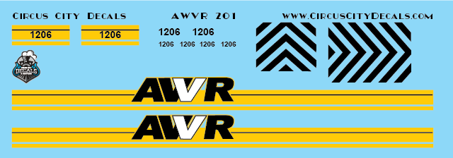 AWVR Unstoppable Movie 1206 SD40-2 HO Scale