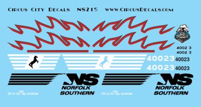 Norfolk Southern AC44C6M Rebuild 4002 4003 Set HO Scale