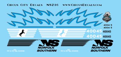 Norfolk Southern AC44C6M Rebuild 4004 4005 Set HO Scale