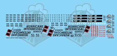 Hurricane Intermodal Service Container