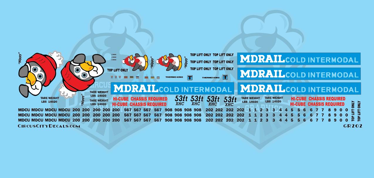 MDRail Cold Intermodal