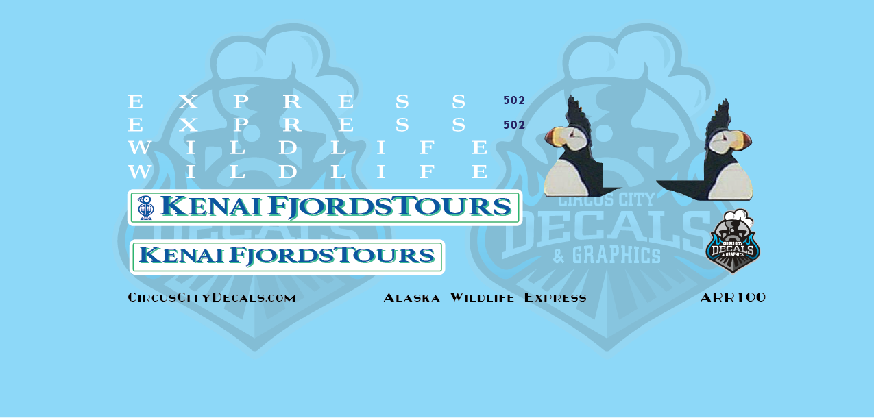 Alaska Railroad Wildlife Express Dome 502 N Scale