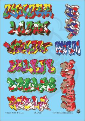 Graffiti G Scale