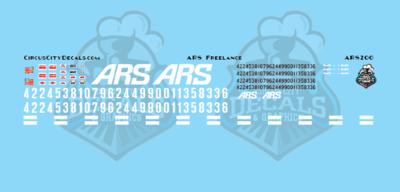 ARS Freelance Locomotive Set HO Scale