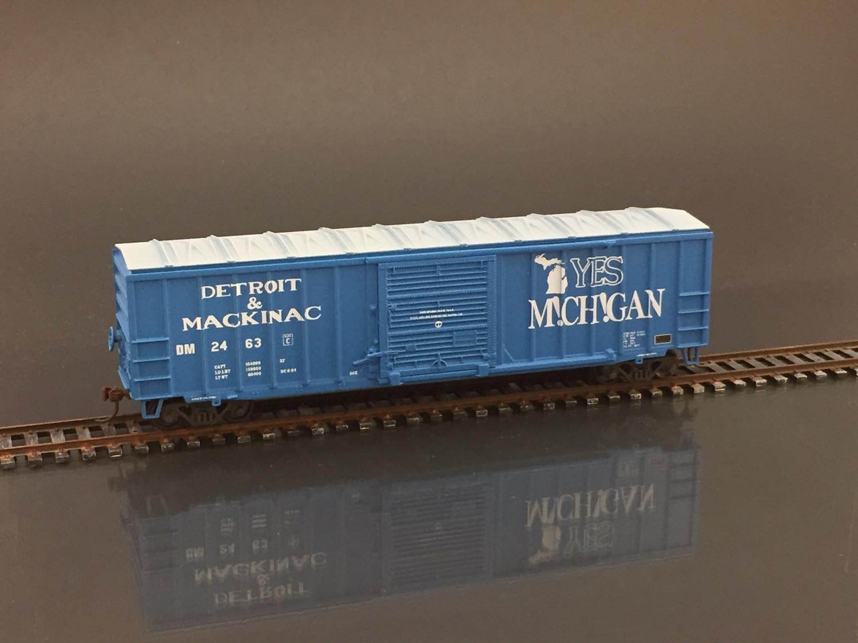 "Detroit & Mackinac ""Yes Michigan"" Boxcar Decal Set DM 2463"