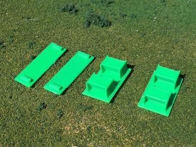 Ballast Door conversion kit HO scale