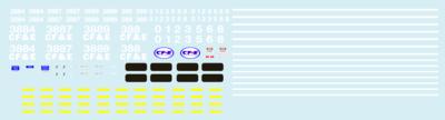 CF&E Chicago, Fort Wayne, & Eastern Railroad GP38-2 HO Scale
