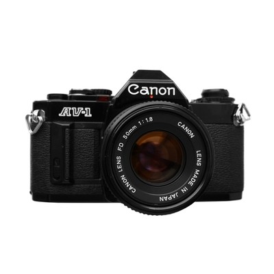 Canon AV-1 Black