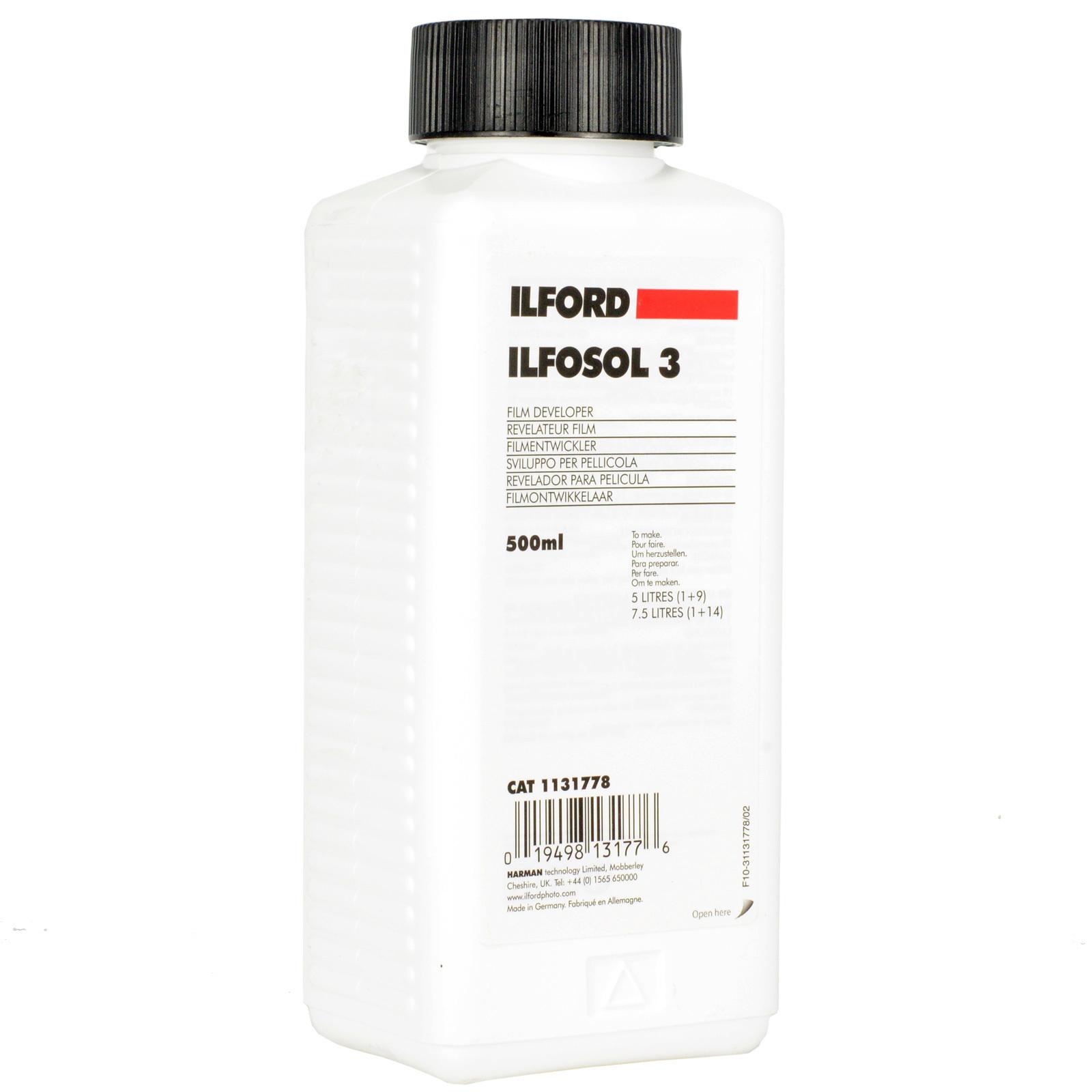 Ilford Ilfosol 3 500мл. chilfosol3500