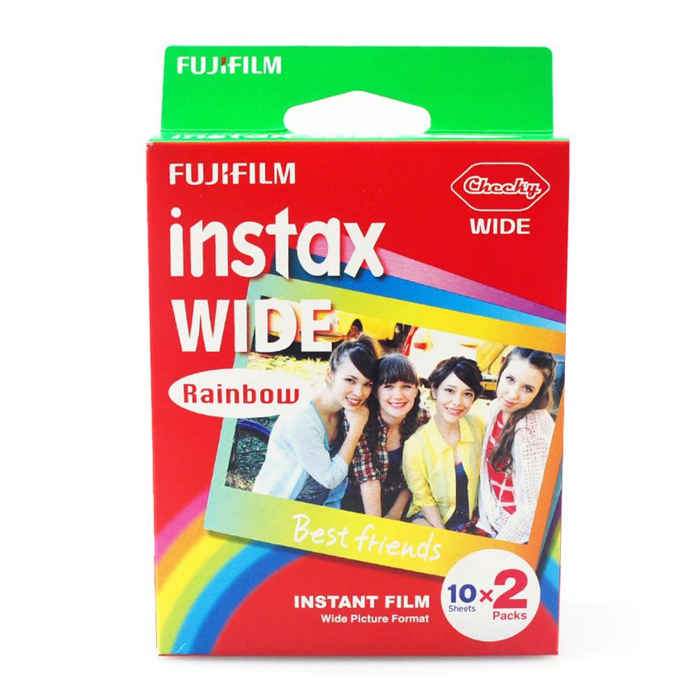 Кассета Fujifilm Instax Wide Rainbow 20 (10x2) f820wc