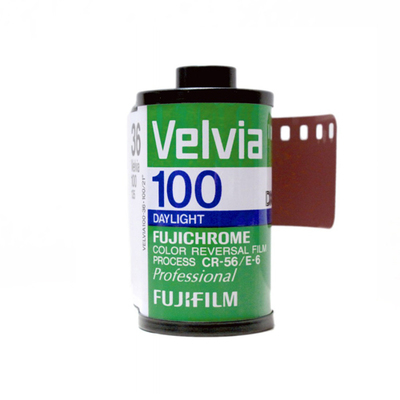 Fujifilm Velvia 100 35mm