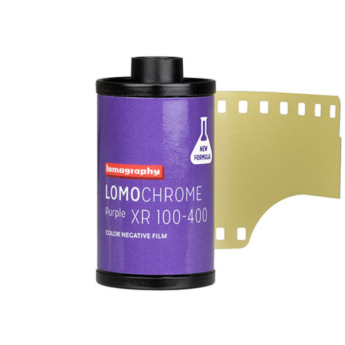 Lomography LomoChrome Purple XR 100-400 35mm NEW! f236purple