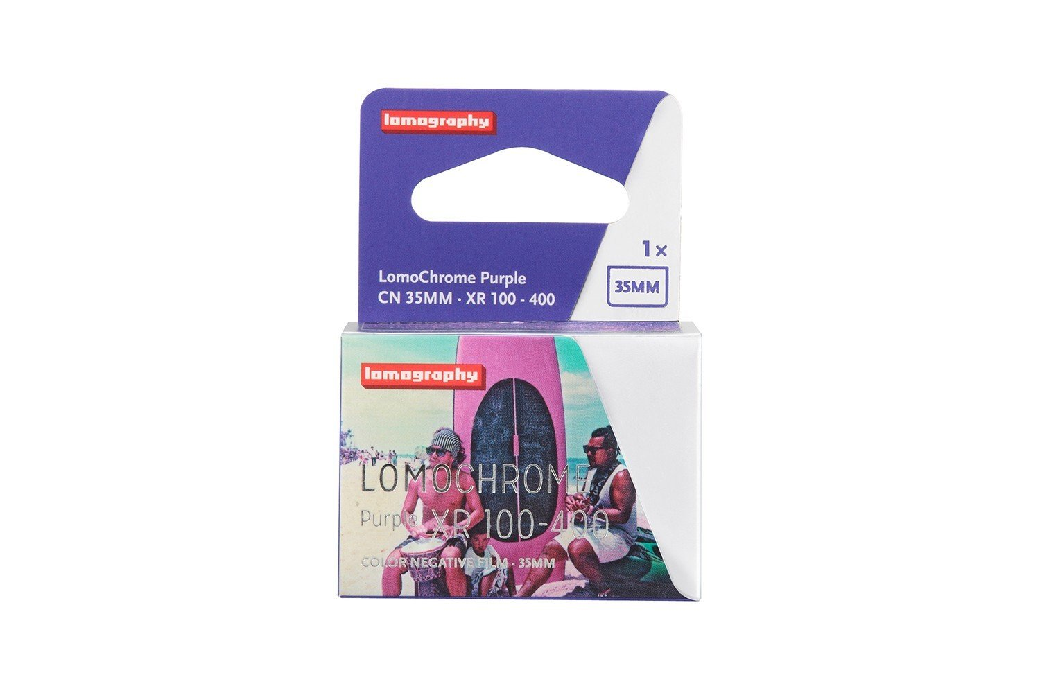 Lomography LomoChrome Purple XR 100-400 35mm NEW!