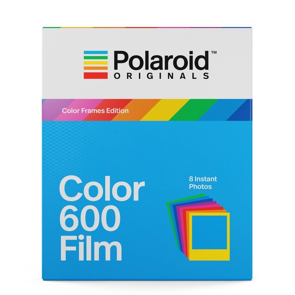 Кассета Polaroid Originals Цветная / Разноцветная рамка