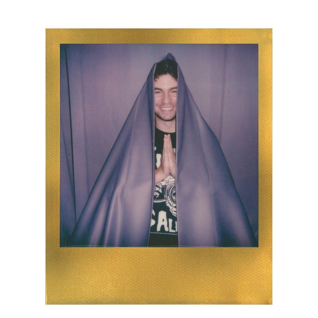 Кассета Polaroid Originals 600 Цветная / Золотая рамка ~