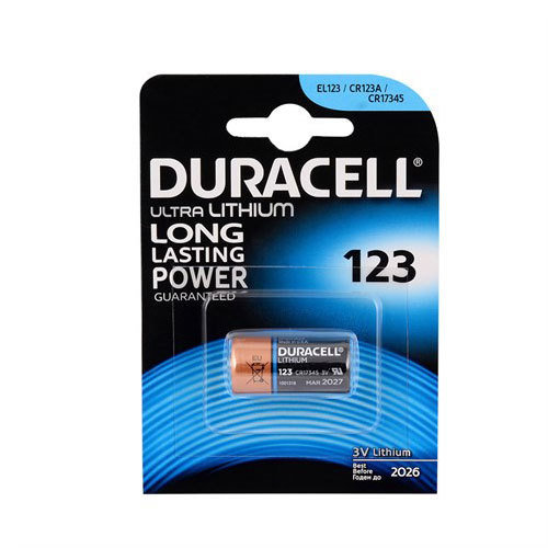 Батарейка Duracell CR123 Ultra