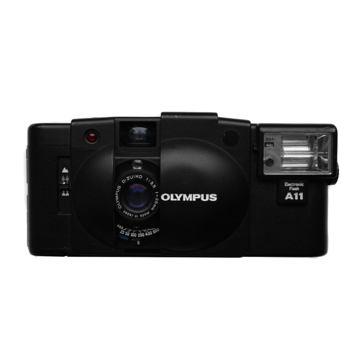 Olympus XA2 + Flash A11