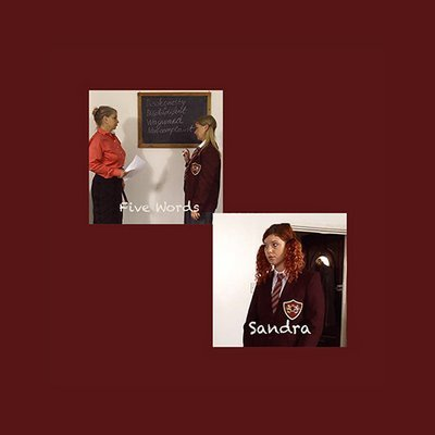 Sandra And Five Words 2 stories on 1 DVD NTSC (89.25min)
