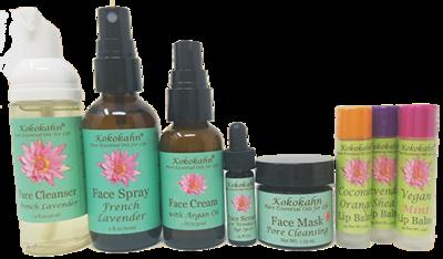 Natural Skin Care Travel Set