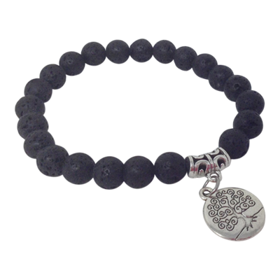 Tree of Life Essential Oil Bracelet