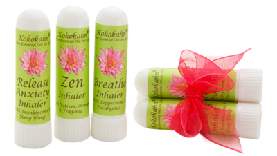 Aromatherapy Inhaler Set