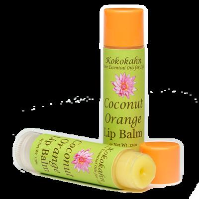 Coconut Orange Lip Balm