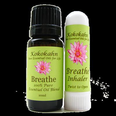Breathe Essential Oil & Inhaler Set