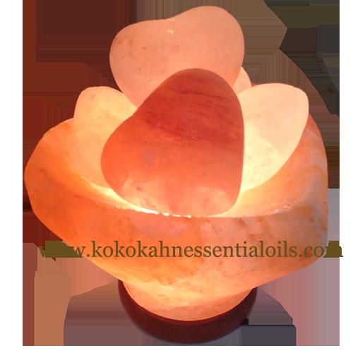 Himalayan Salt Lamp Massage Bowl of Hearts