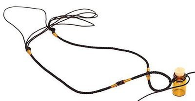 Amber Glass Essential Oil Necklace