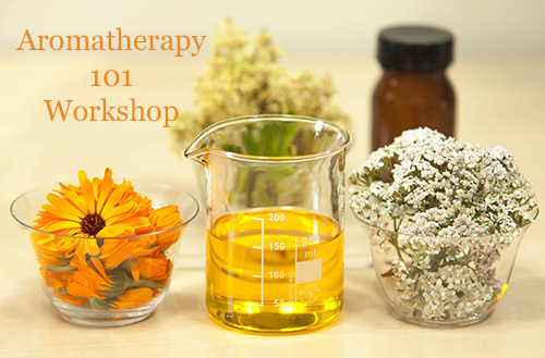 Aromatherapy 101 Workshop | Friday March 15th 2019 WKSP-0315