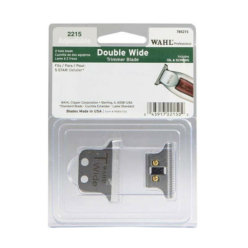Wahl - Lama Testina di Ricambio per Tagliacapelli Detailer T-WIDE da 38mm.