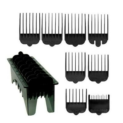 Wahl - Set 8 Rialzi Neri per tagliacapelli Icon / Super Taper / Legend / Magic Clip