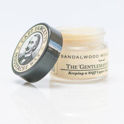Capt Fawsett's - Cera per Baffi aroma Sandalwood 15ml.
