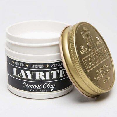 Layrite - Cera per capelli Cement Clay 113ml.
