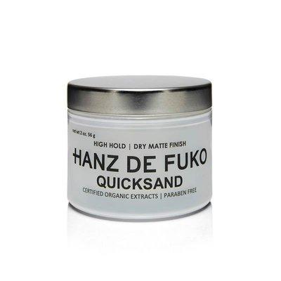 Hanz De Fuko - Quicksand - Cera per Capelli tenuta Forte effetto Ultramatte