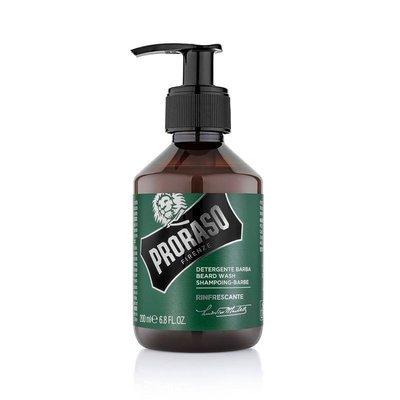 Proraso - Shampoo da barba rinfrescante linea Green 200ml.