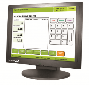 LE1017 LCD 17″ Touch Monitor