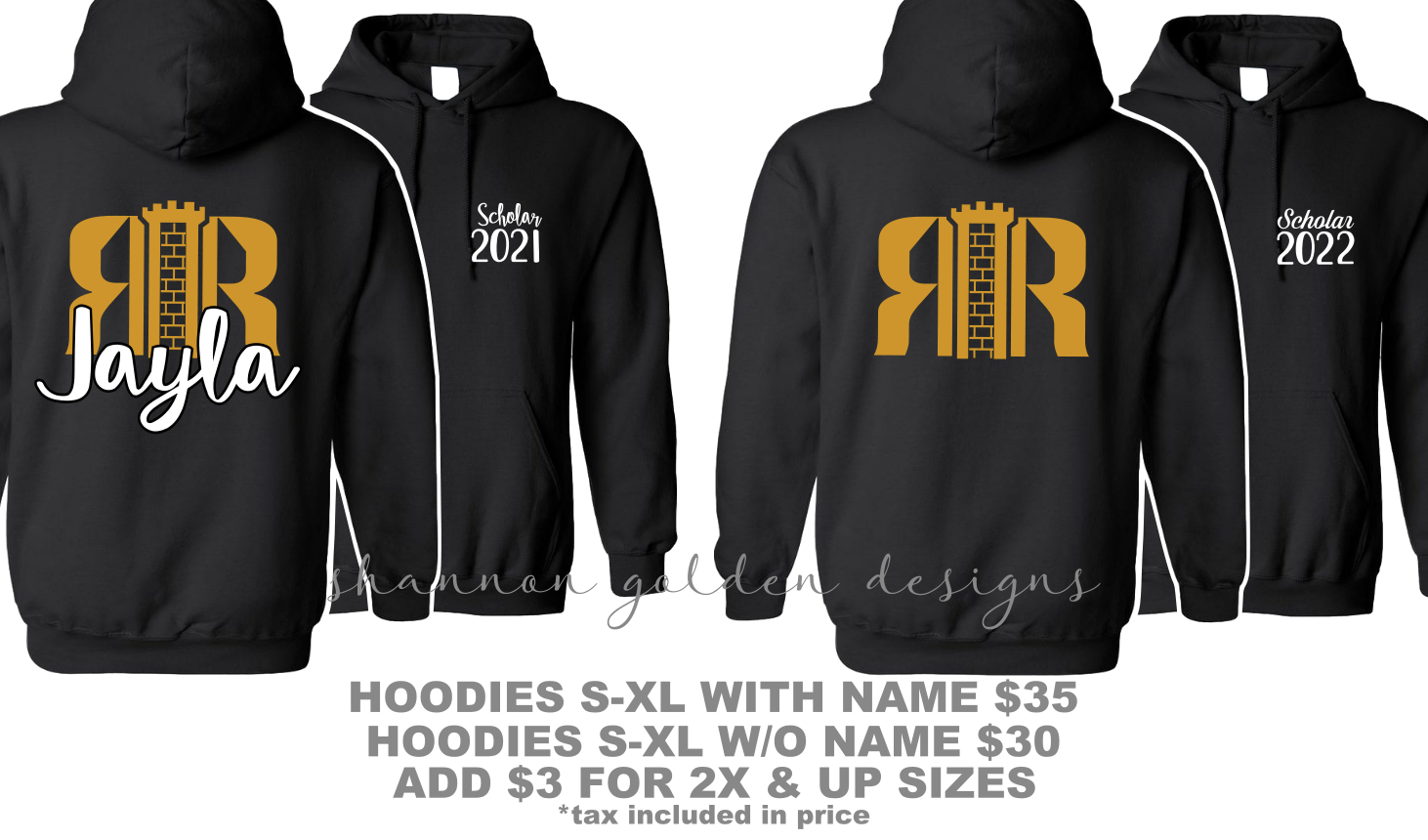 RRHS Early College Hoodie