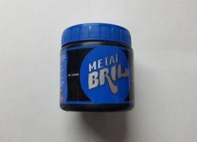 METAL BRIL CREMA PARA PULIR DE 250gr.