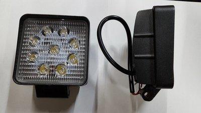 FARO CUADRADO DE 9 LEDS