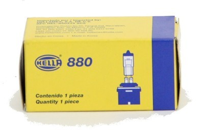 FOCO 880 12V 27W BASE RECTA*