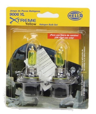 FOCO 9006 12V 55 W YELLOW*