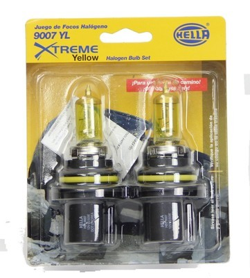 FOCO 9007 12V 65/55W YELLOW*