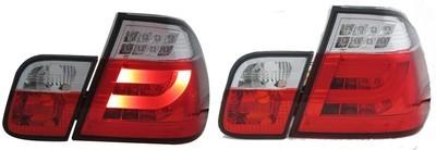 Calaveras BMW SERIE 3 Roja. 99-05