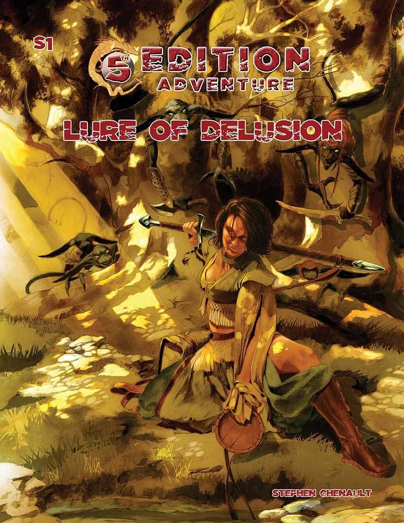 S1: Lure of Delusion: 5th Edition Adventures  -  Troll Lord Games