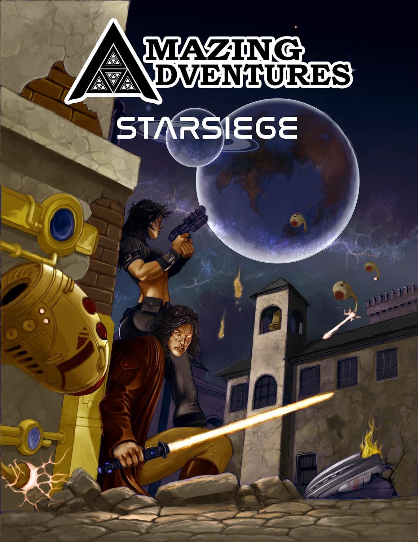 Amazing Adventures StarSiege -- Digital