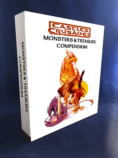 Castles & Crusades Monsters & Treasure Binder w/book & PDF